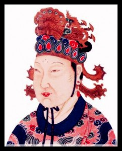 Aimer la cinquantaine passée une chinoise d'âge égal dans Aimer la cinquantaine passée une chinoise d'âge égal a_tang_dynasty_empress_wu_zetian-242x300