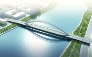 Des ponts français en Chine : la belle aventure, l'histoire de Marc Mimram court sur dix ans. dans Ponts à Tianjin po3-1-879x550-300x187